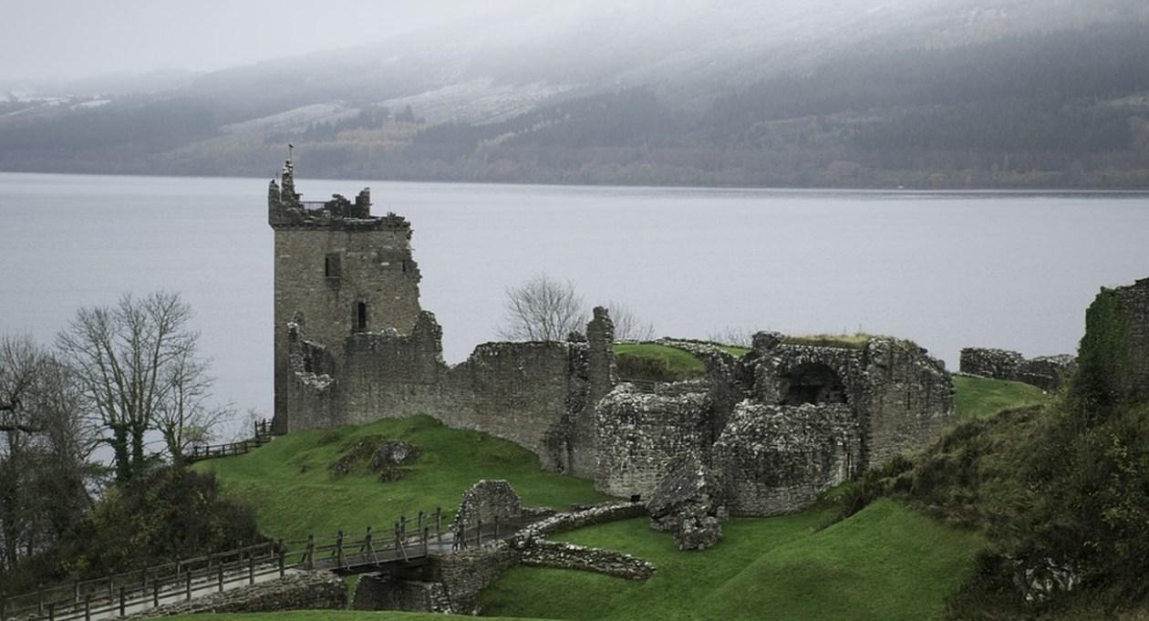 Castillo Urquhart Escocia Ruinas
