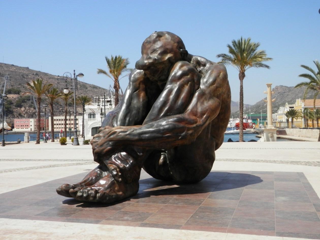 Escultura El Zulo Cartagena