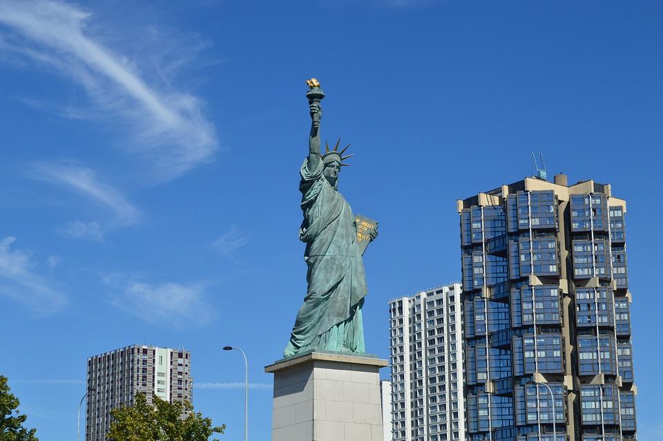 Paris Estatua de la Libertad