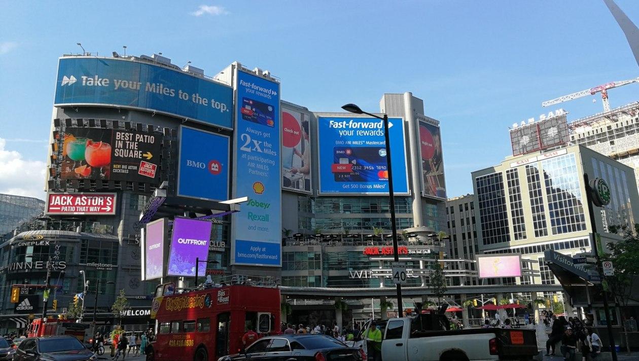 Yonge Dundas Square Toronto