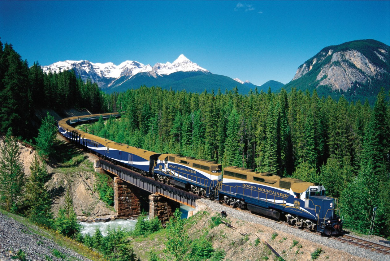 Rocky Mountaineer Tren