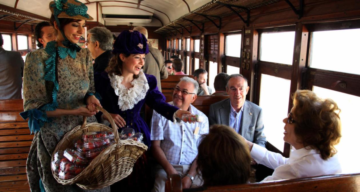 Tren Fresa Aranjuez