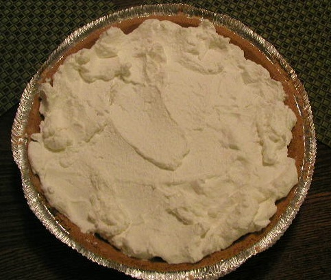 Shirley's Lime and Sour Cream Pie! (2/2)