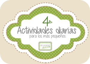 actividades diarias para los más pequeños 4