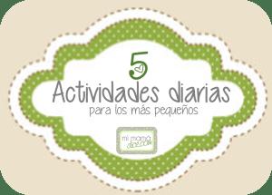 actividades diarias para los más pequeños 5