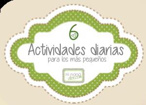 actividades diarias para los más pequeños 6