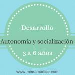 Desarrollo de autonomía y socialización en niños preescolares