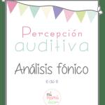 percepción auditiva: Análisis fónico