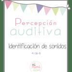 Percepción auditiva: identificación de sonidos