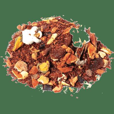 rooibos torta de manzana vienesa