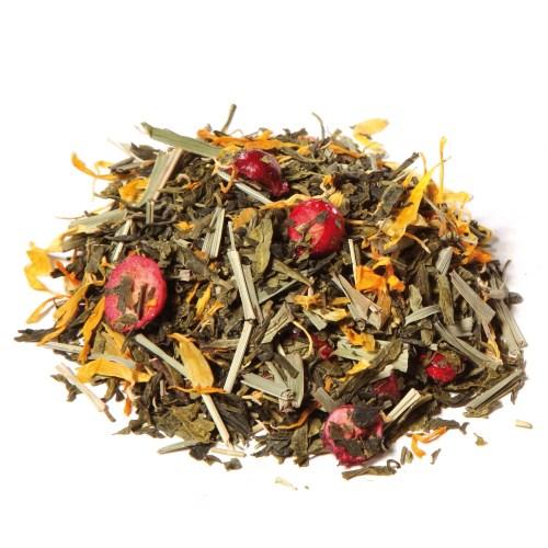 té verde cranberry y jengibre