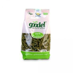 macarrones ecológicos naturales de habas verdes
