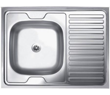 Jednodelna nasadna sudopera, odlicnog kvaliteta, izradena od rosfraja. Prakticna sudopera, za lako održavanje i korišcenje.