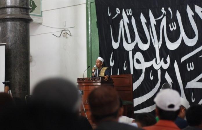 Lilik Suhendar Pembicara dalam Peringatan Penaklukan Konstatinopel di Medan (15/1)/Bara/Mimbar