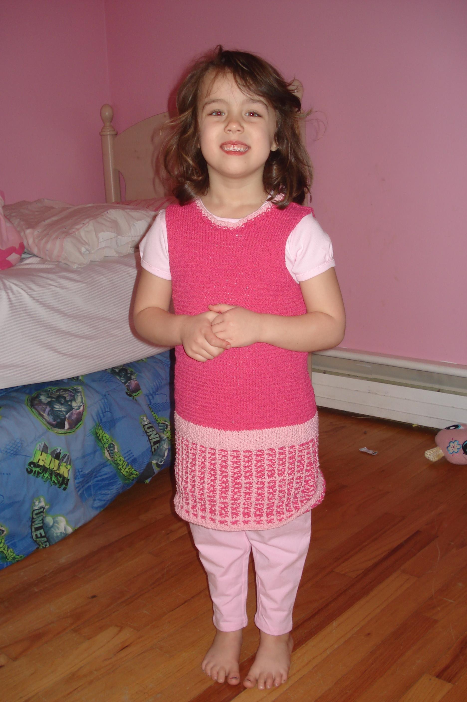 Victoria wearing the Emma Peel dress