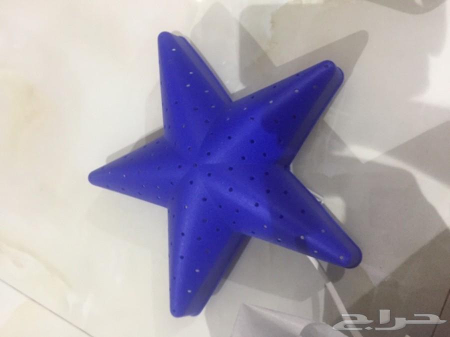 أباجورات ايكيا نجوم زرقاءمعدل