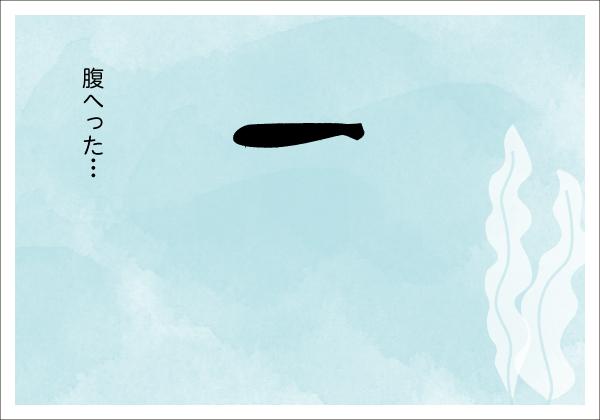 【4コマ漫画】きょうのおさかな#08-1