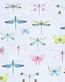 favorite fabrics organic cotton dragonflies
