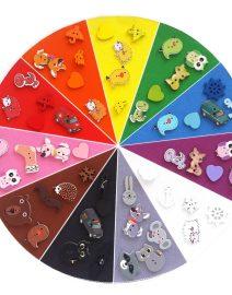 43 color sorting circle 11 objetos