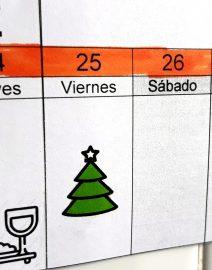 calendario linear 5