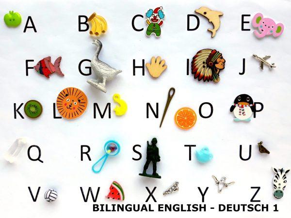 bilingual language objects english deutsch