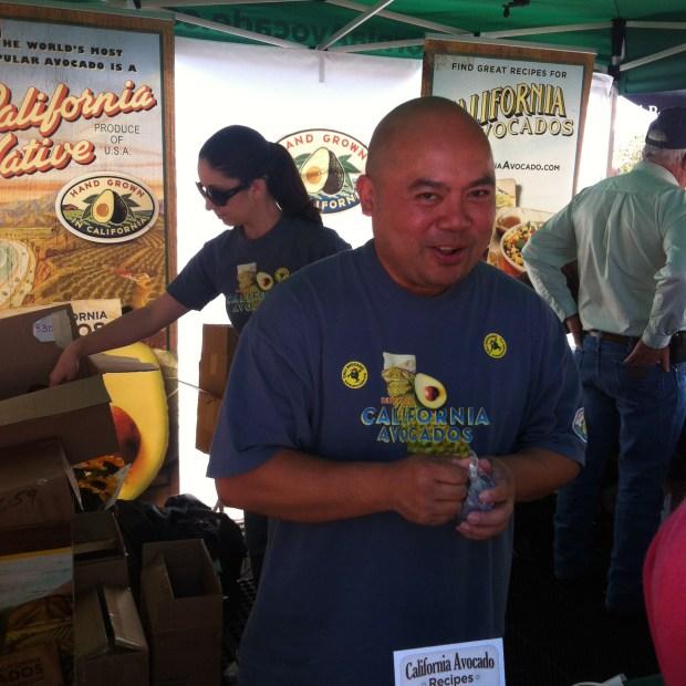 California Avocado Commission's Dave Cruz