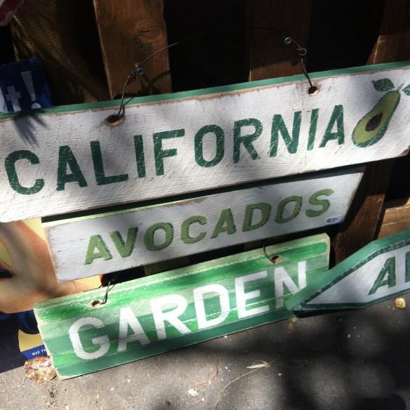 Garden signs