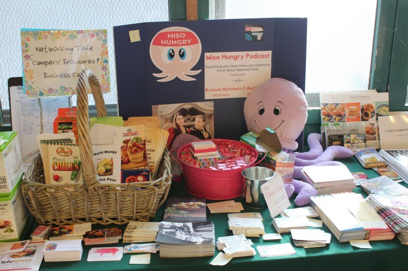 Miso Hungry display Camp Blogaway