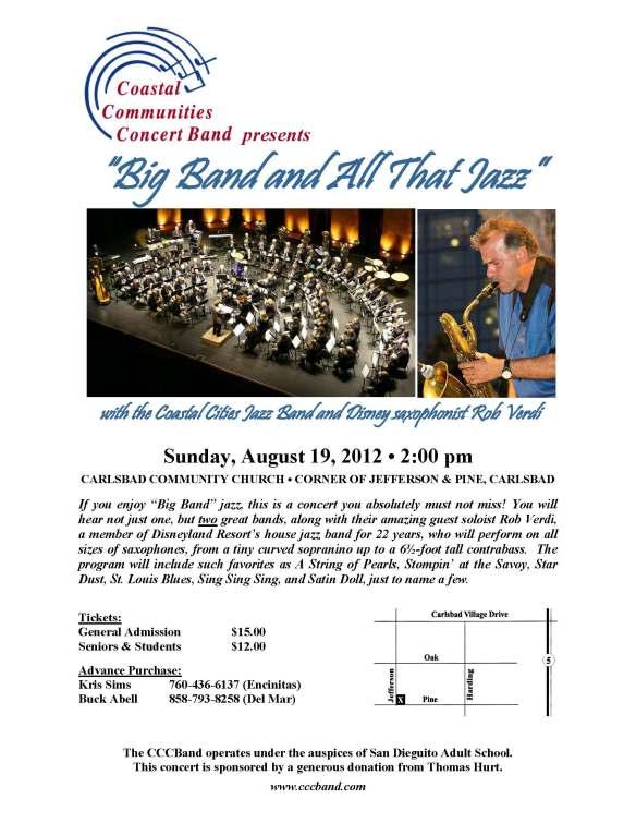 Coastal Communities Concert Band Summer Pops Concert