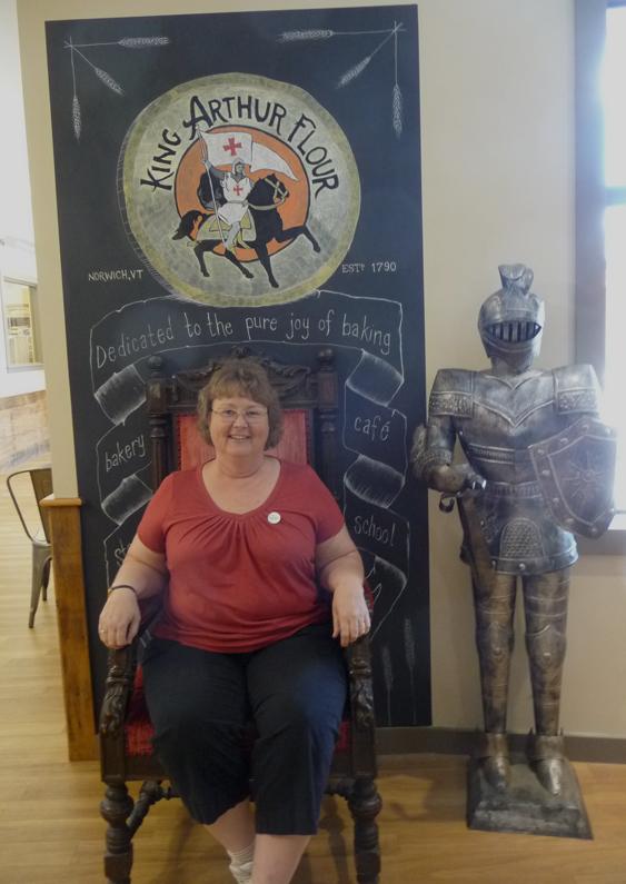 chair at King Arthur
