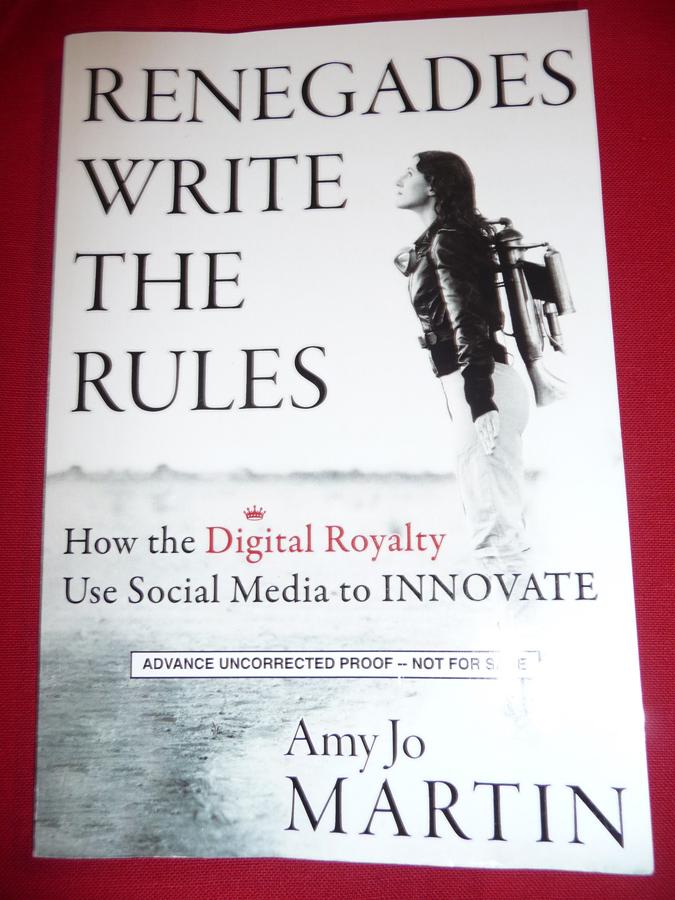 Amy Jo Martin was a fascinating speaker
