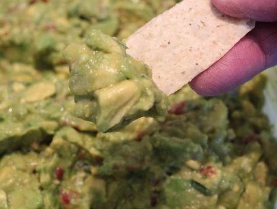 taste the guacamole