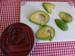 avocado slices the long way
