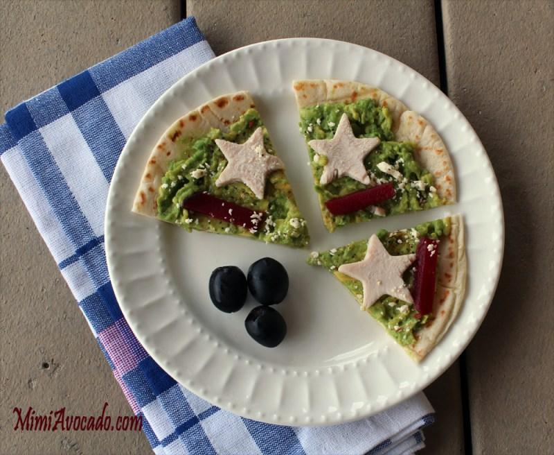 turkey avocado flatbread