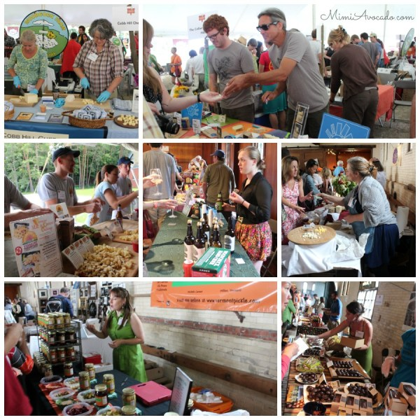 CheeseFestTastingCollage