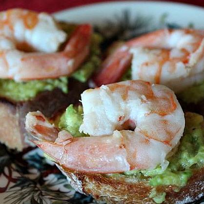 avocadoandshrimptoast