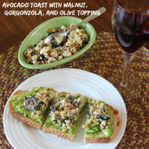 walnut topping for avocado toast