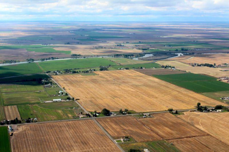 Idaho farmland