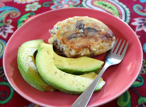 Potato Patty with Avocado