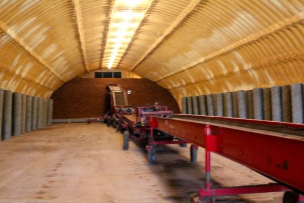 long view of storage