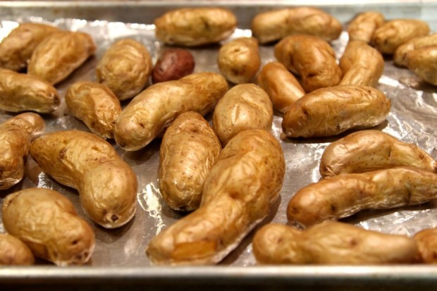 roasted Idaho® fingerling potato