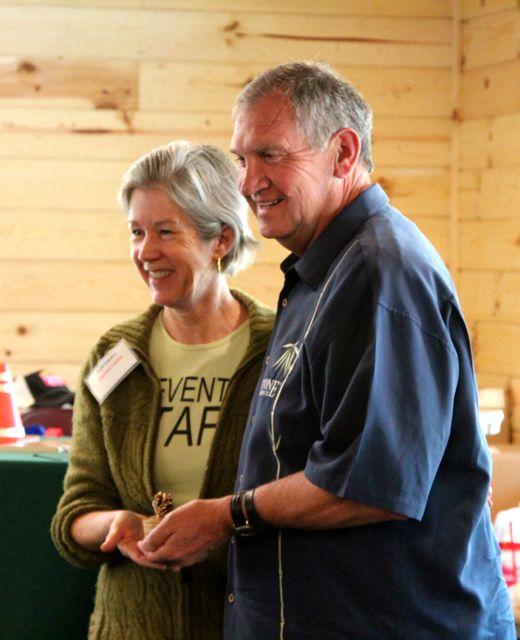 Don Odiorne and Patti Londre
