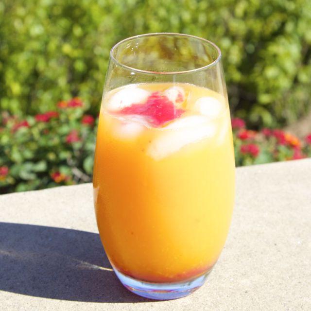 peachy orange punch