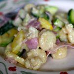 zucchini - macncheese