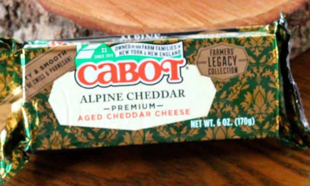 Cabot Alpine Cheddar cheese