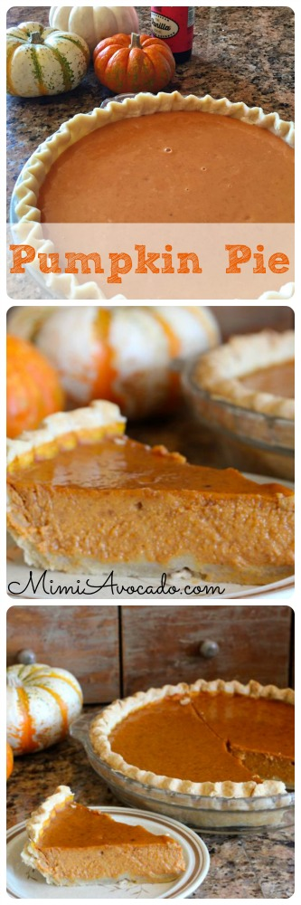 pumpkin pie for pinterest