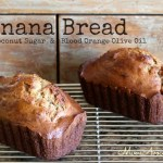 blood orange banana bread