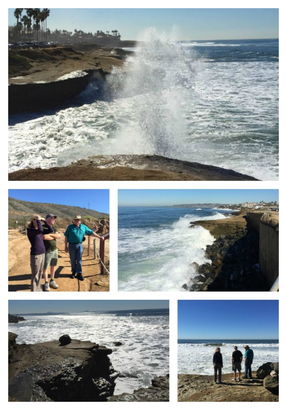 high surf San Diego