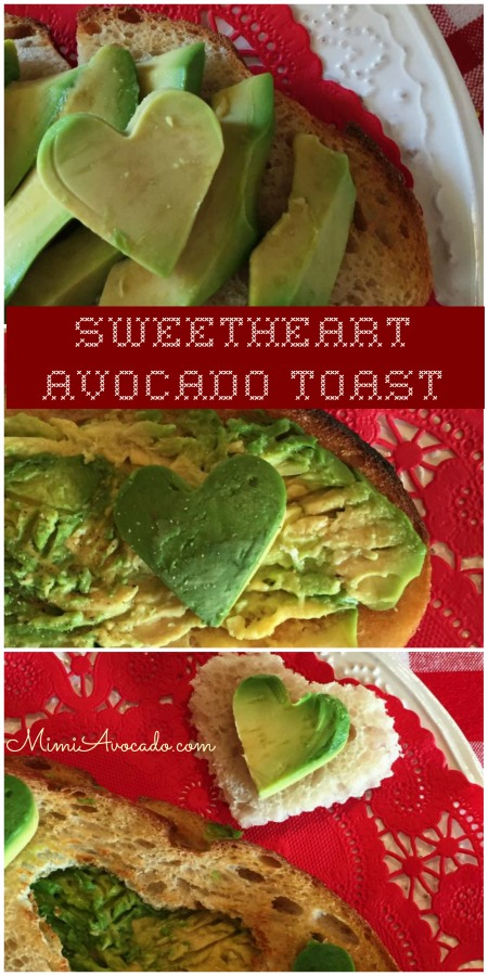 Avocado Toast Valentine