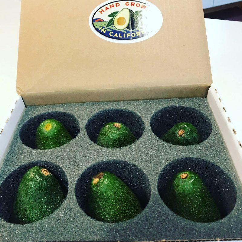 California avocado gift box